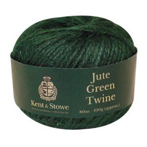 Jute Twine Green 80m (100g)