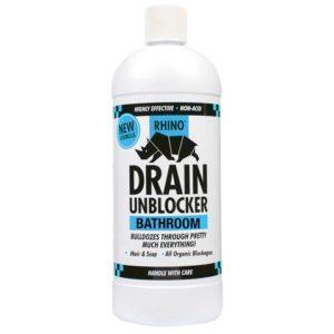 Rhino Bathroom Heavy-Duty Drain Unblocker 1 Litre