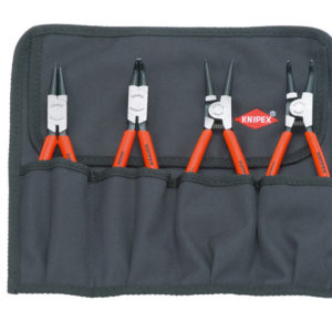 Circlip Pliers Set in Roll 4 Piece