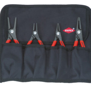 Precision Circlip Pliers Set in Roll 4 Piece