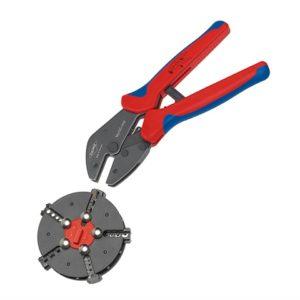 Multicrimp® Pliers Set - 5 Quick Change Cartridges