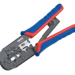 Crimping Pliers for RJ11/12 RJ45 Western Plugs