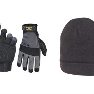 PK3015 Work Gloves + Beanie Hat