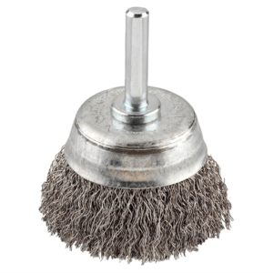 HSS Crimped Cup Brush 50mm Coarse