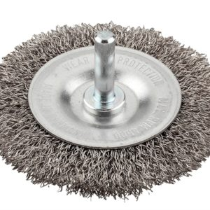HSS Crimped Wheel Brush 100mm Coarse
