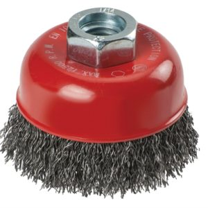 Crimped Steel Cup Brush 60mm x M14
