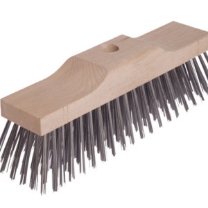 Broom Head Raised Wooden Stock 6 Row 300mm x 70mm