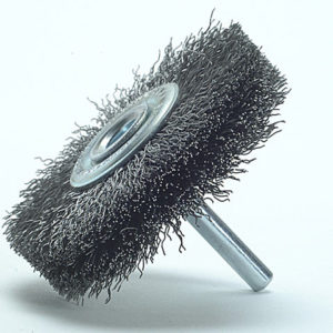 Wheel Brush with Shank 70 x 13mm 0.30 Steel Wire
