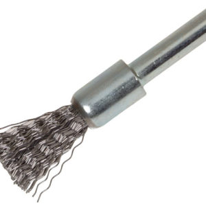 End Brush with Shank 12 x 20mm 0.30 Steel Wire