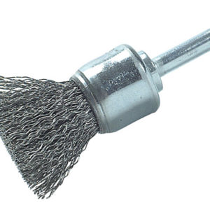 DIY End Brush with Shank 25mm 0.30 Steel Wire