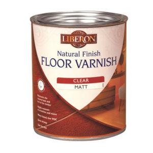 Natural Finish Floor Varnish Clear Satin 2.5 litre
