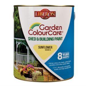 Shed & Building Paint Sun Flower 2.5 Litre