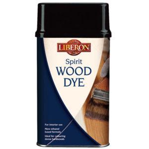 Spirit Wood Dye Ebony 1 litre