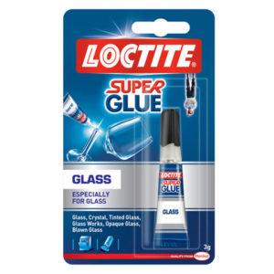 Super Glue Glass 3ml Tube