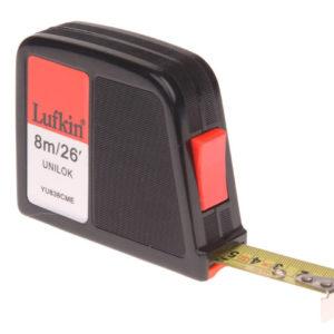 YU838CME Unilok Pocket Tape 8m/26ft (Width 19mm)