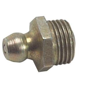 HUF6 Hydraulic Nipple Straight 3/8 UNF