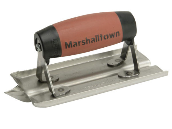 M180D Stainless Steel Groover Trowel DuraSoft® Handle 6 x 3in