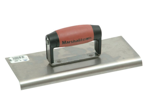 M192SS Stainless Steel Cement Edger DuraSoft® Handle 10 x 4in