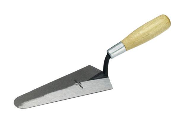 M48 Gauging Trowel Wooden Handle 7in