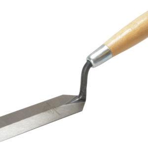 54 Margin Trowel Wooden Handle 5 x 1.1/2in
