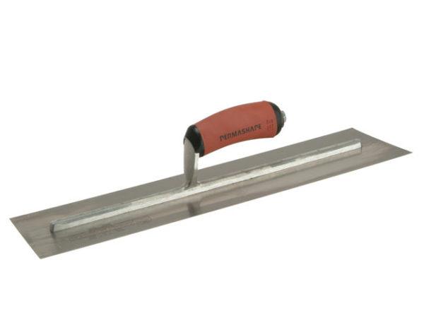 MPB815D Pre-Worn PermaShape® Finishing Trowel DuraSoft® Handle 18 x 5in