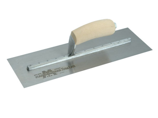 MXS73 Cement Trowel Wooden Handle 14 x 4.3/4in
