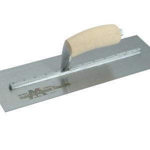 MXS77 Cement Trowel Wooden Handle 18 x 4.1/2in