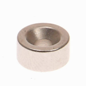 301b Countersunk Magnets (2) 10mm Polarity: South
