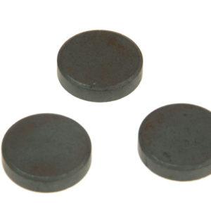 601 Ferrite Disc Magnet 20mm (Card of 10)