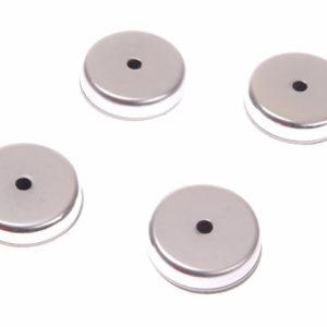 703 Ferrite Shallow Pot Magnets(4) 32mm