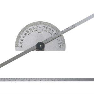 Protractor Type Depth Gauge Metric 0-150mm