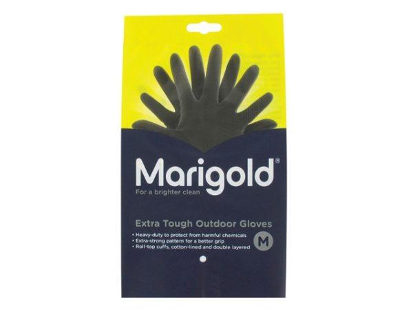 Extra Tough Outdoor Gloves - Medium (6 Pairs)