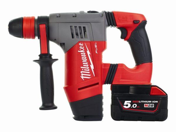 M28 CHPX-502C FUEL™ SDS Plus Hammer Drill 28V 2 x 5.0Ah Li-Ion