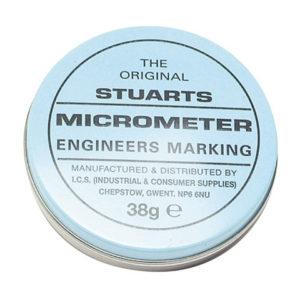 Tin of Micrometer Marking Blue