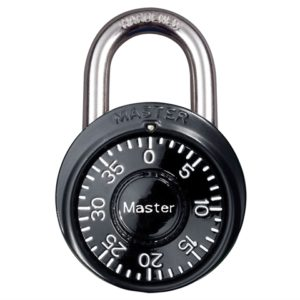 Stainless Steel Fixed Dial Combination 38mm Padlock