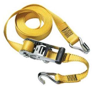 Ratchet Tie-Down J Hooks 4.50m