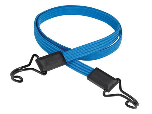 Flat Bungee 120cm Dark Blue Double Hook