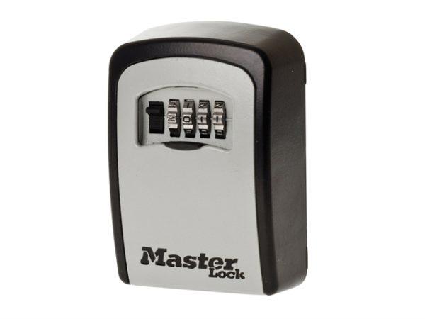 5401 Standard Wall Mounted Key Lock Box (Up To 3 Keys) - Black