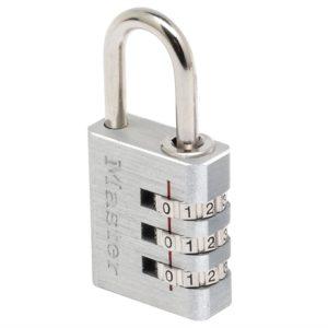 Aluminium 30mm 3-Digit Combination Padlock