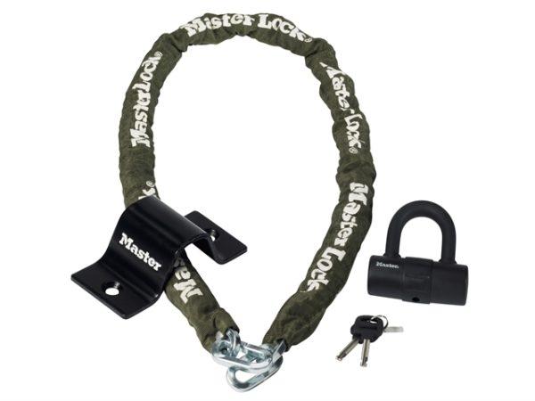 Security Kit Mini D Lock Anchor & Chain 1.5m x 8mm