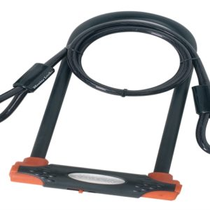 High Security U-Bar with Cable 280 x 110 x 13mm