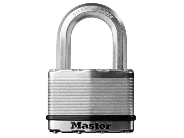 Excell™ Laminated Steel 64mm Padlock - 38mm Shackle