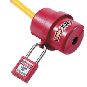 Lockout Electrical Plug Cover Small for 120V - 240V