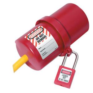 Lockout Electrical Plug Cover Large for 240V - 550V