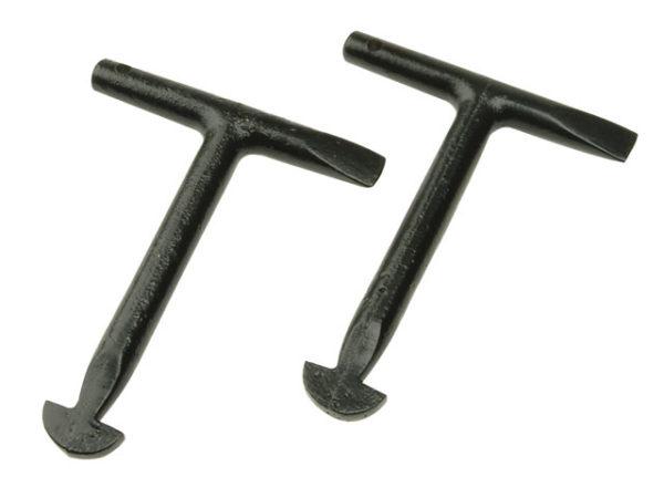 1010L Manhole Keys (Pack of 2) 125mm (5in)