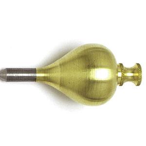 254T Brass Plumb Bob 450g (16oz) Size 7
