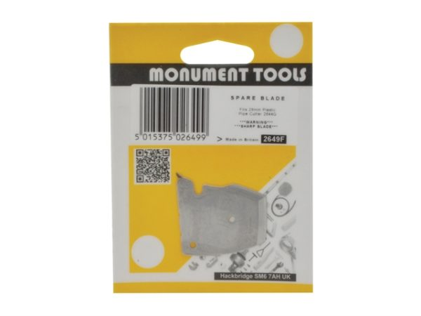 2649F Spare Blade for 2644Q 28mm Plastic Pipe Cutter