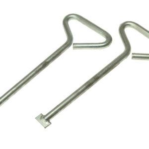 MLK06 Manhole Lifting Keys (Pack of 2) 150mm (6in)