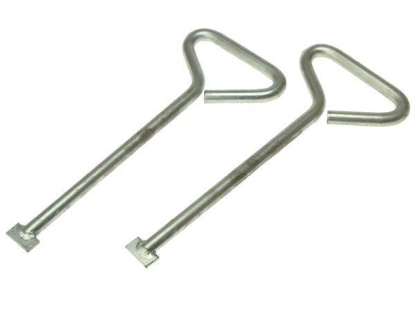 MLK24 Manhole Cover Lift Keys (Pack of 2) 609mm (24in)