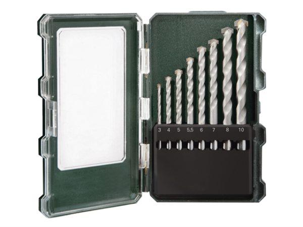 Masonry Drill Set 8 Piece 3-10mm